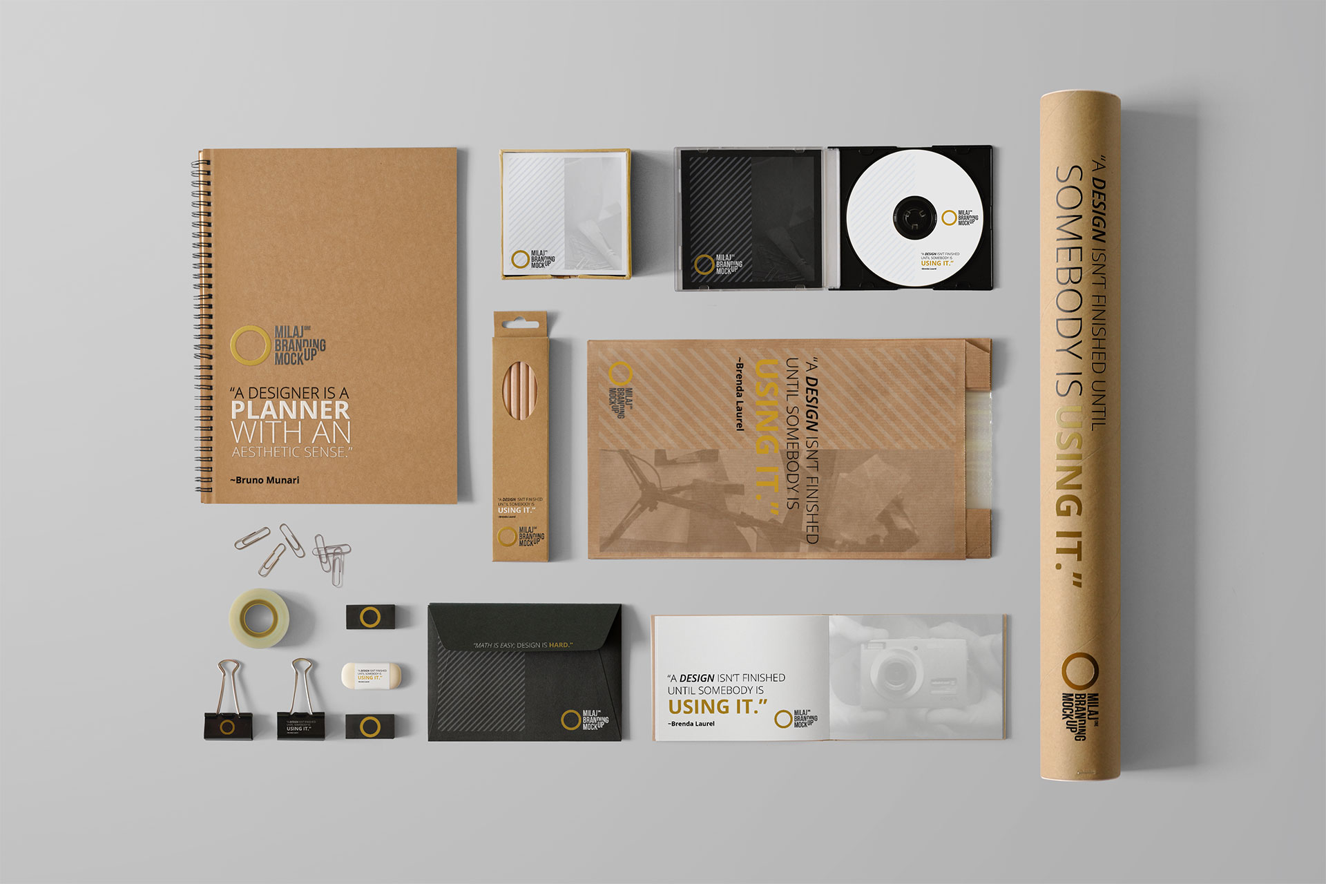 White Branding Set 3
